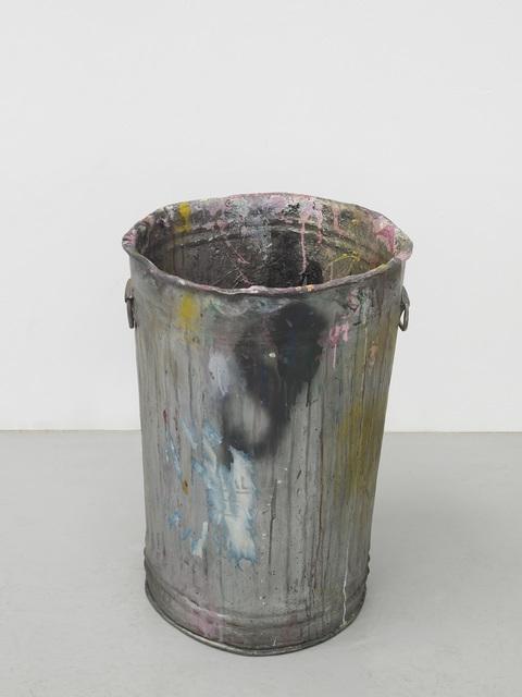 , 'Painting of a Dustbin,' 2018, MARUANI MERCIER GALLERY