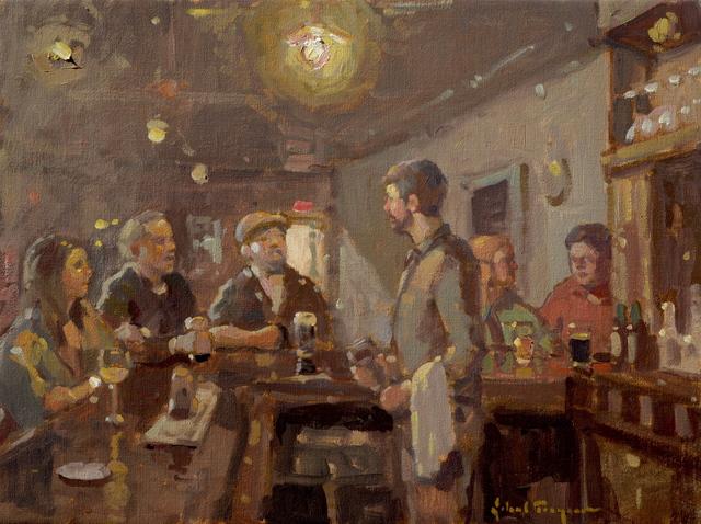 , 'Bar Room Conversations,' , J. Cacciola Gallery