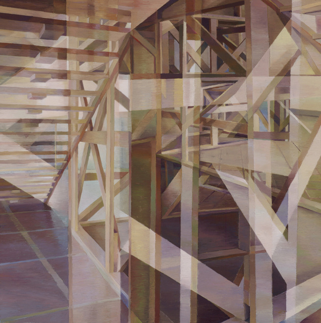 , 'Wooden Structure 2,' 2015, Walter Wickiser Gallery