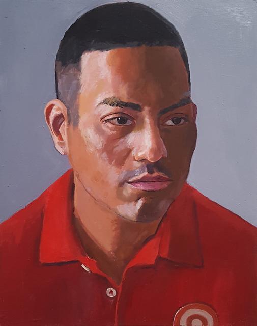 , 'Target Worker,' 2018, Craig Krull Gallery