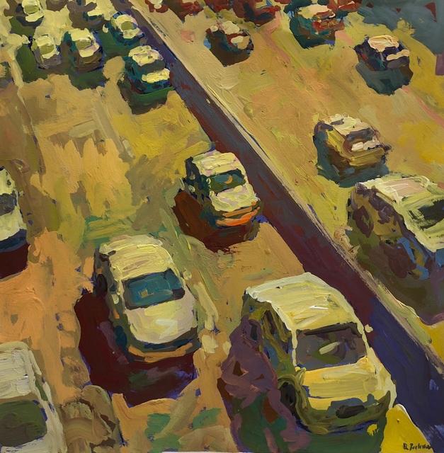 , 'Cars in Motion,' 2018, George Billis Gallery