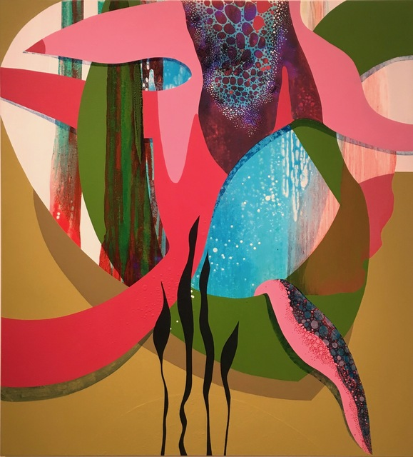 , 'Aquanetta,' 2019, DC Moore Gallery