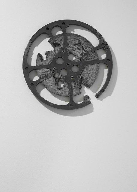 , 'Ash Eroded Film Reel (Large),' 2013, Galerie Ron Mandos