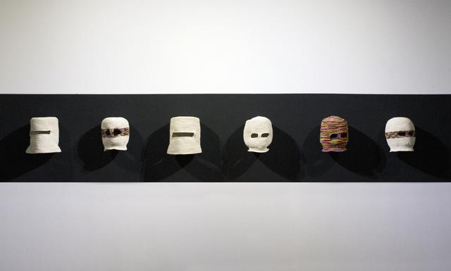 , 'Balaclavas (Evolución del sombrero Panamá),' 2015, Y Gallery