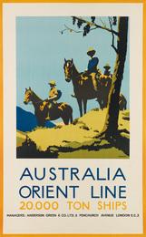 AUSTRALIA ORIENT LINE / 20,000 TON SHIPS