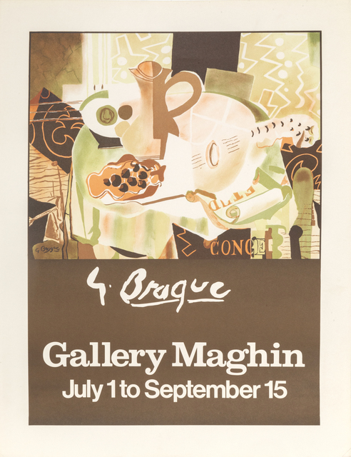 Georges Braque, 'Gallery Maghin Braque Exhibition', ca. 1960, RoGallery