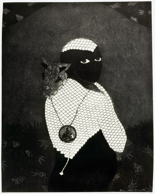 , 'Sin título (Sikán con chivo) (Untitled (Sikán with Goat)),' 1993, Fowler Museum at UCLA