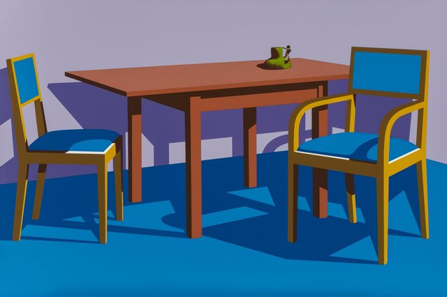 Ken Price, 'Coffee Shop at the Art Institute', 1971, Print, Screenprint in colors on wove paper, Heritage Auctions