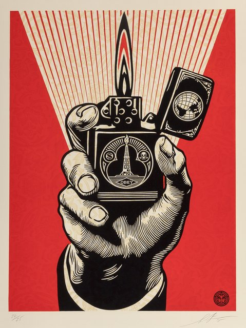 Shepard Fairey (OBEY), 'Smoke 'em while you got 'em', 2015, Heritage Auctions