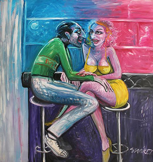 , 'La pareja,' 1980, Roldan Moderno