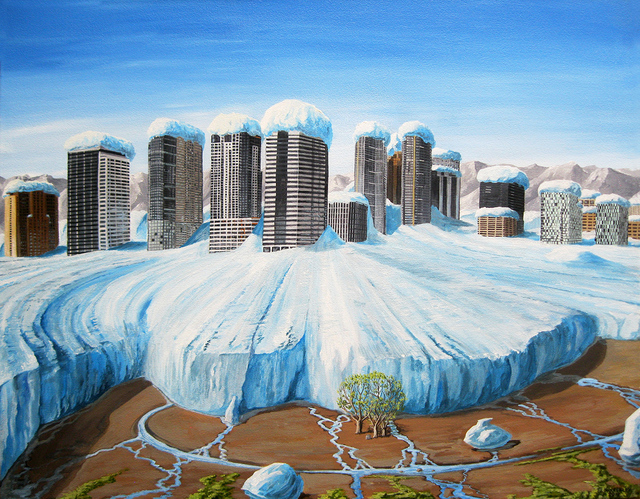 , 'The Little Bellevue Ice Age,' 2018, Linda Hodges Gallery