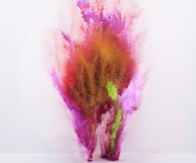 , 'Exploding Powder Movement: Red,' , ArtStar