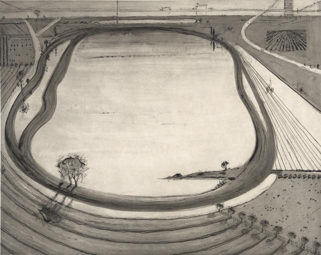 , 'Dark Reservoir,' 2014, Crown Point Press