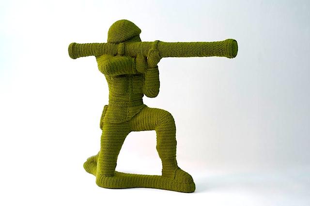 , 'Green Army Man Bazooka,' , Emmanuel Fremin Gallery