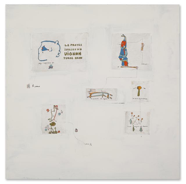 , 'Sur la constitution des signes ,' 1966, Galerie Michael Hasenclever