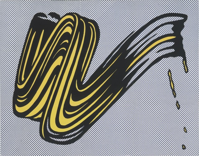 Roy Lichtenstein, 'Brushstroke Corlett II 5', 1965, Frank Fluegel Gallery
