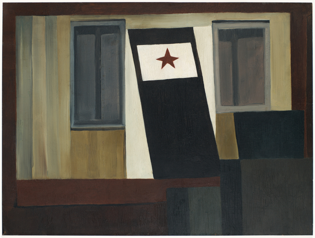 Helen Torr, 'Windows and a Door', ca. 1927, Painting, Oil on copper mounted on board, San Francisco Museum of Modern Art (SFMOMA)