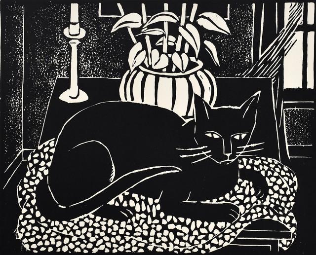 , 'Cat on a Table,' 1965, Scholten Japanese Art