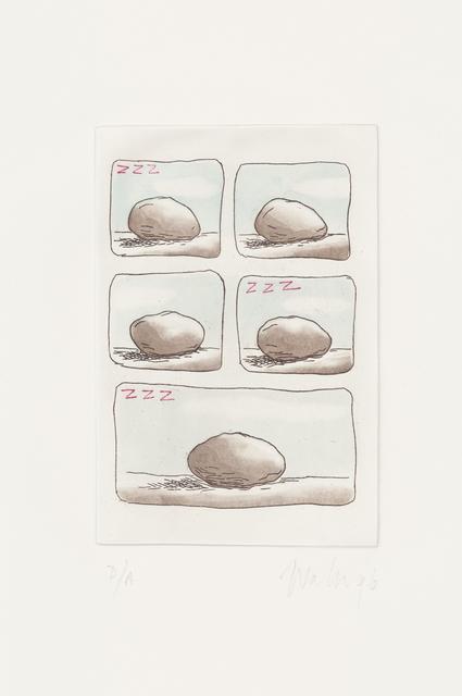 , 'A estoria da pedra /The story of the rock,' 1996, Mul.ti.plo Espaço Arte