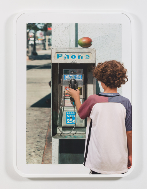 , 'Boy with Image of Payphone,' 2016, Koenig & Clinton