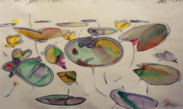 Ted Godwin, 'Lilies Midsummer', 1985, Wallace Galleries