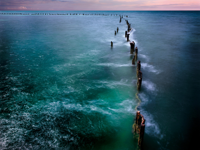 , 'Higgs Pier  (Key West, Florida Keys),' 2014, NoonPowell Fine Art