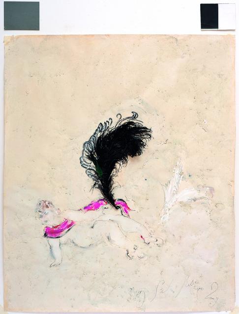 SRĐAN VUKČEVIĆ, 'An Ostrich Feather and White Wings', 2009, Museum of Modern Art Dubrovnik