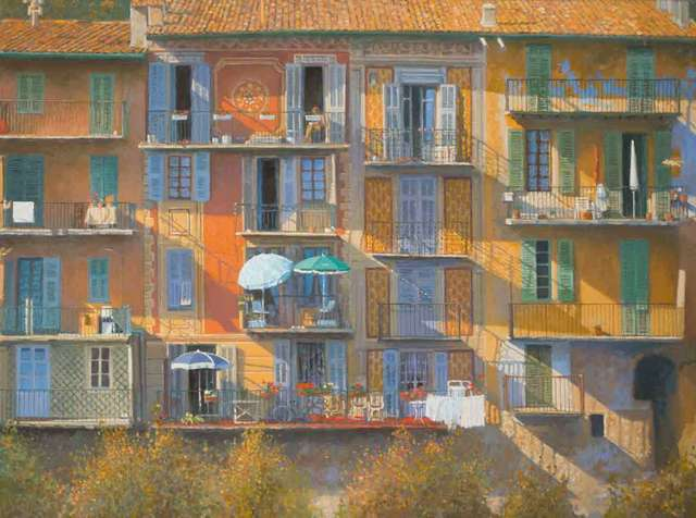 , 'Houses in the Alpes-Maritimes,' 2018, Catto Gallery