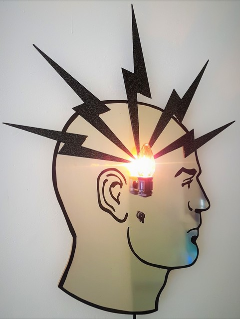 , 'Bright Idea,' 2018, Cerbera Gallery