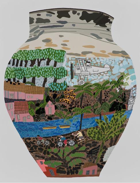 , 'Frimkess Chilean Landscape Pot,' 2015, Gagosian
