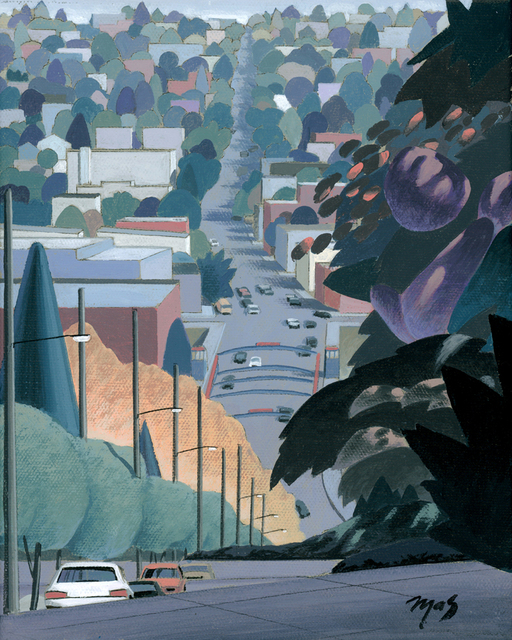 , 'Fremont from 4th Ave North I - Color Study,' 2018, Gunnar Nordstrom Contemporary Fine Art
