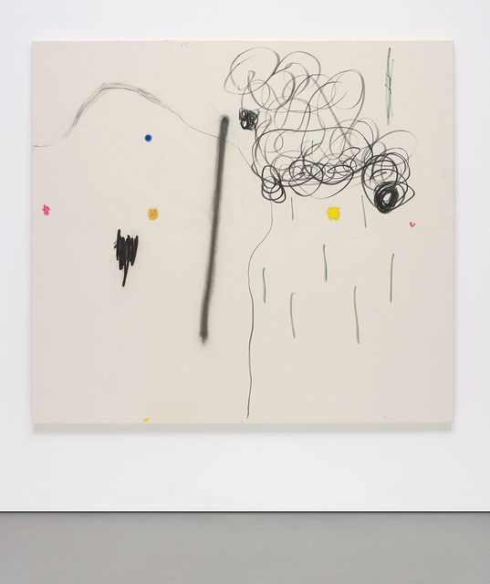 Christian Rosa, 'Ruff Neck', 2013, Mixed Media, Resin, spray paint, oil stick, oil on canvas, Phillips
