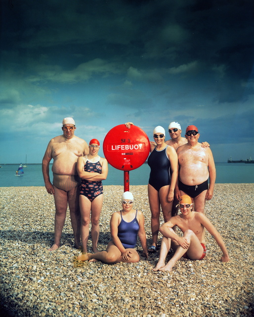 , '15 July 1984 Channel Swimmers,' 1984, PDNB Gallery