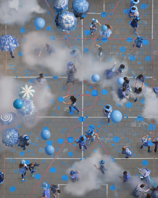 , 'Blauwe Bloem,' 2015, Bau-Xi Gallery