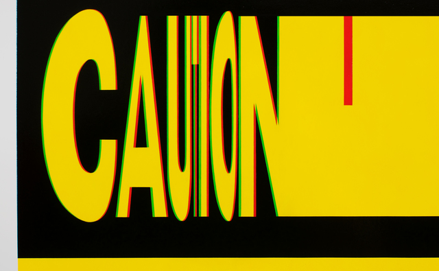 , 'Caution,' 2018, Lyons Wier Gallery