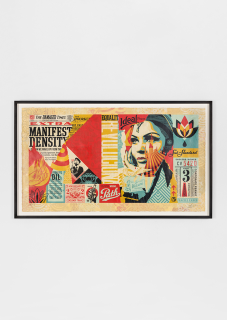 Shepard Fairey, 'Damaged Wrong Path Mural', 2018, Underdogs Gallery