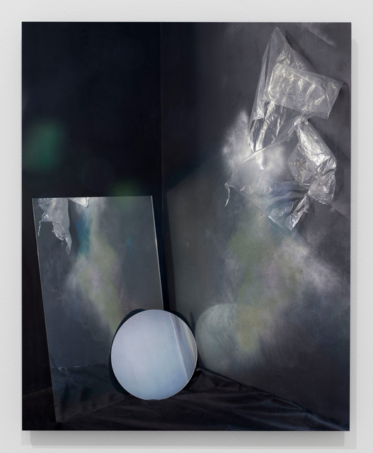 , 'Studio Study No. 6 (mirrors, plastic, paint),' 2018, Grant Wahlquist Gallery
