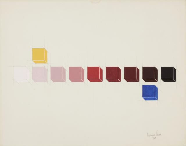 , 'Sistema Cromático - Primarios -,' 1968, Henrique Faria Fine Art