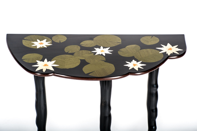 , 'Water Lilly Table,' 2017, Linda Matney Gallery