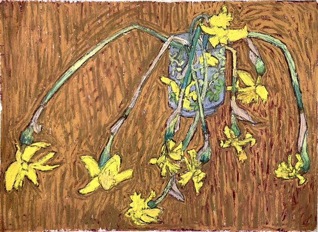 , 'Dying Daffodils,' ca. 1974, AH Contemporary