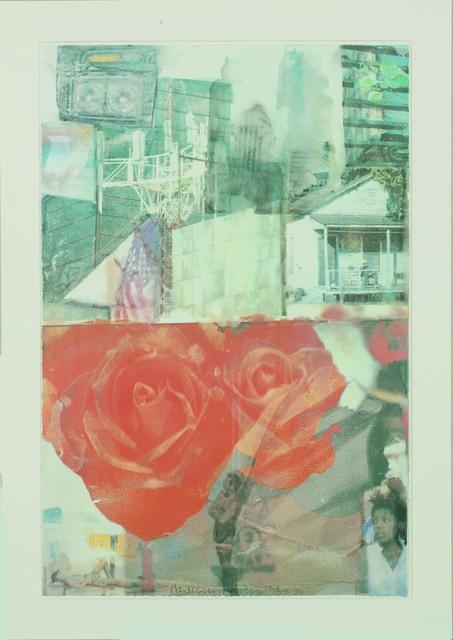 Robert Rauschenberg, 'Domicile', 1996, Guild Hall