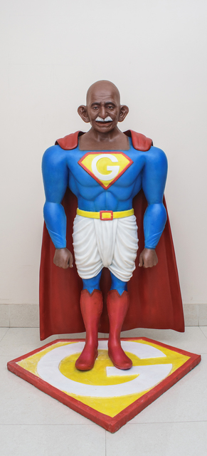 , 'Toy Gandhi 4 (Small Superhero),' 2019, Aicon Gallery