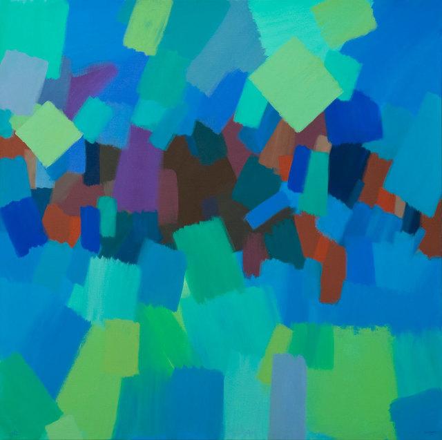 , 'Green ,' 2015, Ayyam Gallery