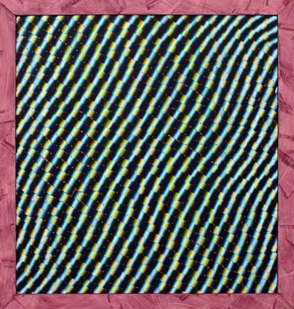 , 'Attempt 144 (purple frame),' 2016, Circuit12