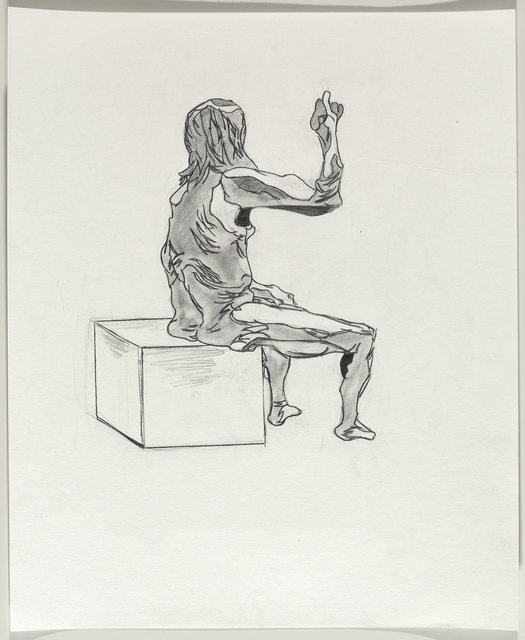 , 'Untitled (Seated pose),' 2016, Brooklyn Museum