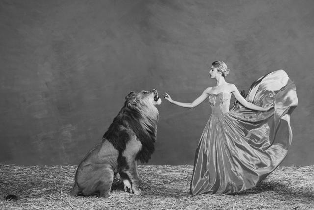Tyler Shields, 'The Lion Queen', ca. 2019, Samuel Lynne Galleries