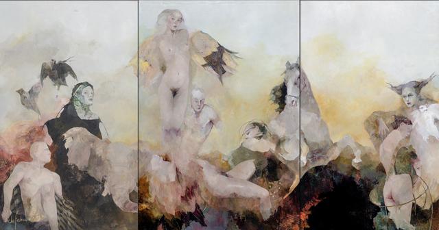 , 'Angelos y demonios,' 2016, Galerie Calderone
