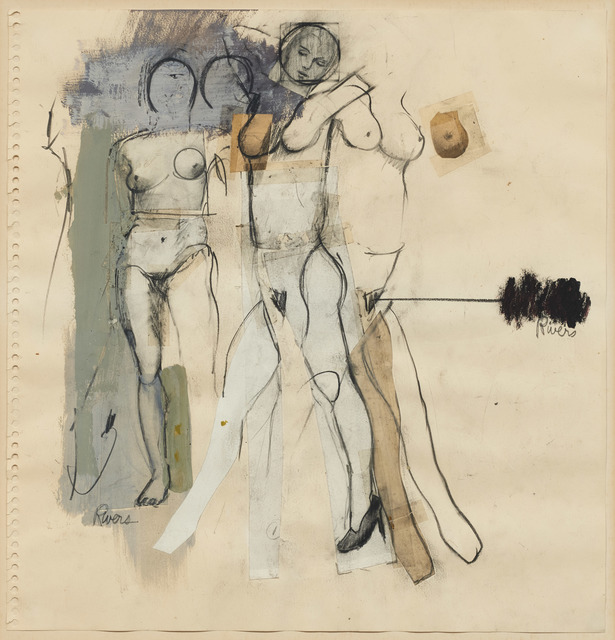 , 'White Figures – How to Draw,' 1962, DICKINSON