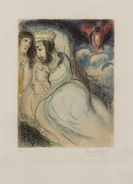 Marc Chagall, 'Sarah and Abimelech', 1960, Forum Auctions
