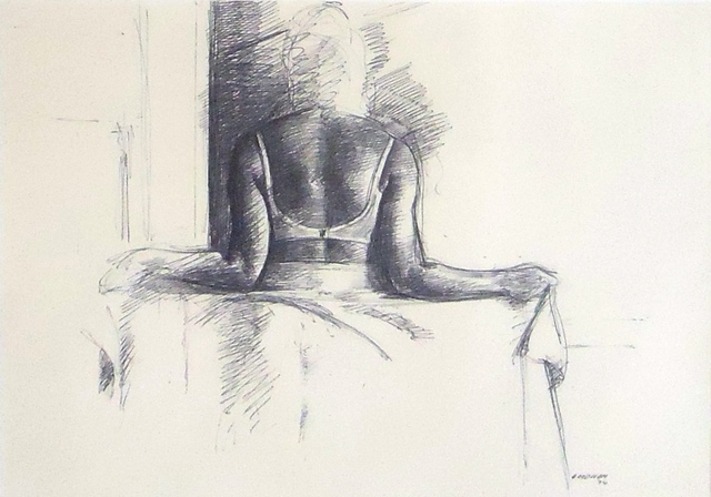 , 'Study for Woman Holding a Sheet,' 1974, Cerulean Arts